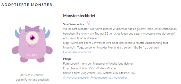 Mein Adoptiv-Monster
