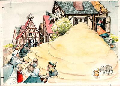 Der süße Brei von die Gebrüder Grimm