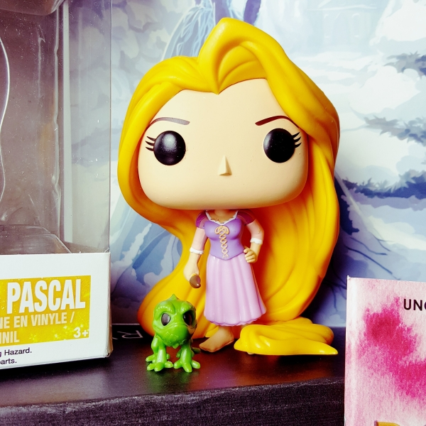 Funkopop - Rapunzel & Pascal